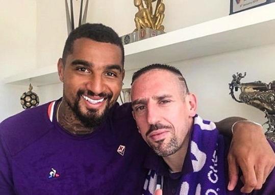 ribery e boateng alla Fiorentina