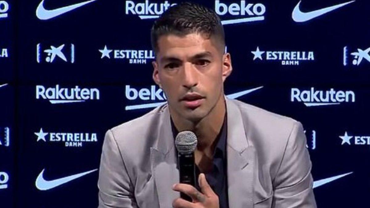 L'addio al Barça di Suarez