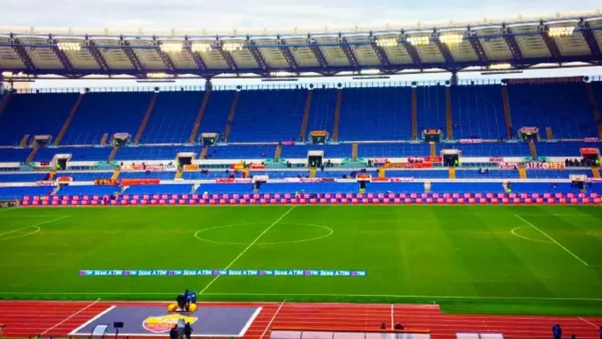 stadio olimpico vuoto
