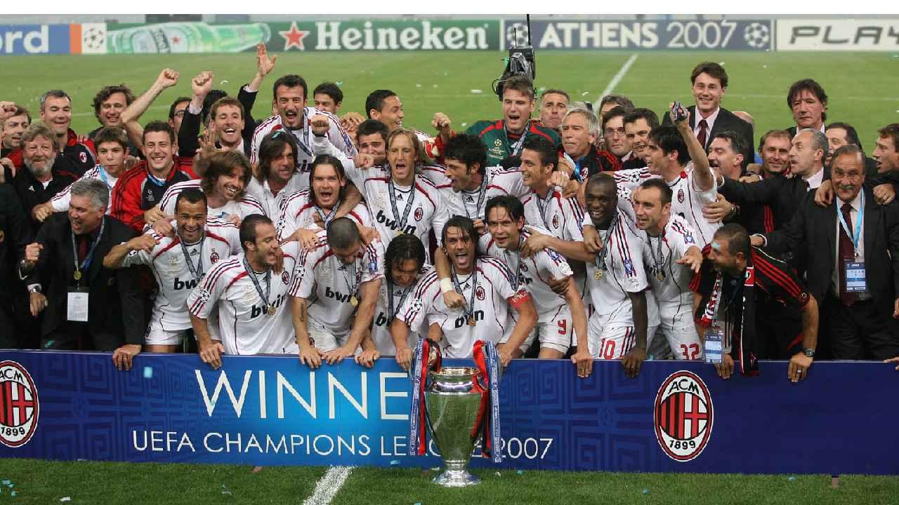 ultima champions vinta milan